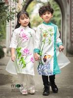 Top áo dài cho bé bán chạy nhất mùa đông của Moon Xinh