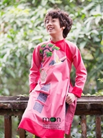 Nhí nhảnh như Bảo An và Gia Khiêm với áo dài cho bé mới nhất của Moon Xinh