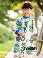 Mua ngay áo dài cho bé trai dạo chơi cuối tuần ở Moon Xinh