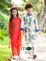 Áo dài xuân cho bé Tết Kỉ Hợi ở Moon Xinh