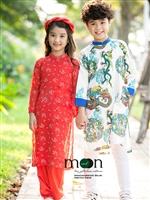 Áo dài cho bé mới nhất chào thu ở Moon Xinh