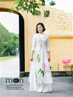 Chuẩn bị quà tặng cho ngày Phụ nữ Việt Nam - áo dài lụa