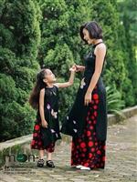 Gợi ý áo dài đôi cho mẹ và con gái đi dự sự kiện