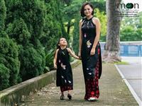 Top áo dài đôi mẹ và bé bán chạy nhất hè 2018 của Moon Xinh