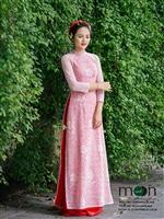 Xúng xính áo dài mùa cưới với bộ sưu tập áo dài mới nhất thu đông 2017 của Moon Xinh