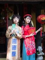 10 mẫu áo dài cho bé gái mới nhất của Moon Xinh