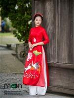 Áo dài đẹp nhất cho ngày phụ nữ Việt Nam