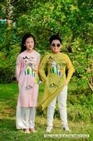 Quà tặng cho bé ngày Quốc tế thiếu nhi 1.6 - áo dài cách tân