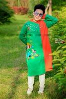 Mua áo dài cách tân mùa hè cho bé trai cực ngầu ở Moon Xinh