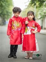 Những món quà cho bé hot nhất mùa Giáng Sinh 2017 - áo dài trẻ em Moon Xinh