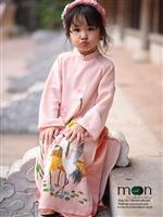 Gợi ý áo dài truyền thống cho bộ ảnh đón xuân 2018 của mẹ và con gái