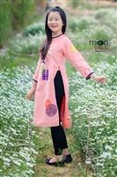 Top 5 mẫu áo dài cho bé bán chạy nhất của Moon Xinh