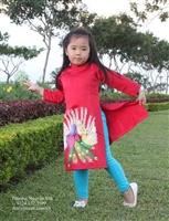 Mua áo dài vẽ cho bé tại Huyện Mê Linh