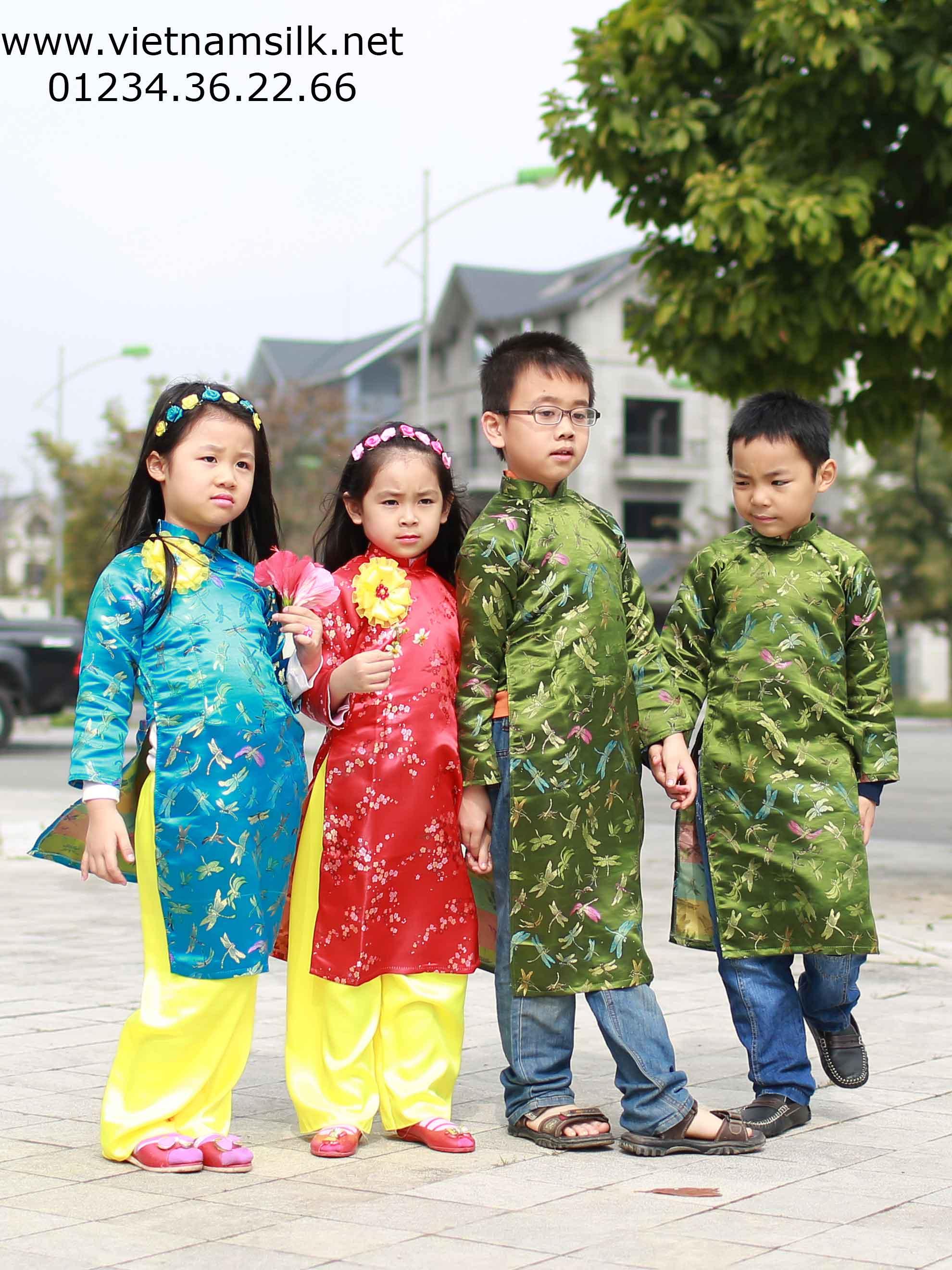 Gấm Thượng Hải cho trẻ em đẹp và rẻ nhất Hà Nội