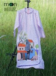 Áo dài truyền thống cho bé gái MX.138