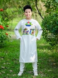 Áo dài bé trai Đám cưới chuột vinh quy bái tổ MX.203