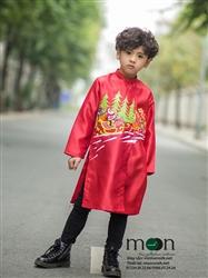 Áo dài cho bé trai MX.159