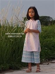 Áo dài thiết kế cho bé gái