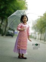 Áo dài cho bé gái MX.156